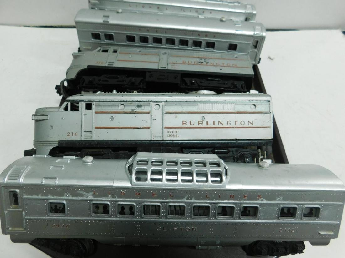 2 Lionel Switchers and 3 Passenger Cars - 2