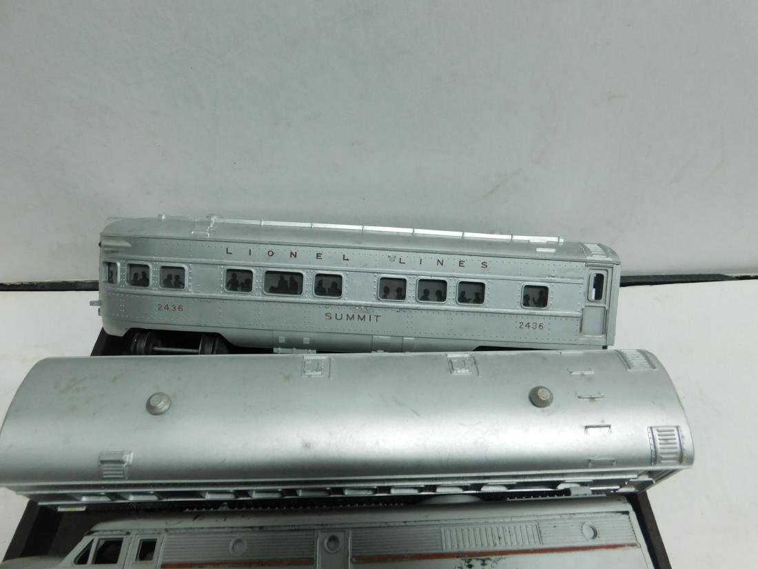 2 Lionel Switchers and 3 Passenger Cars - 4