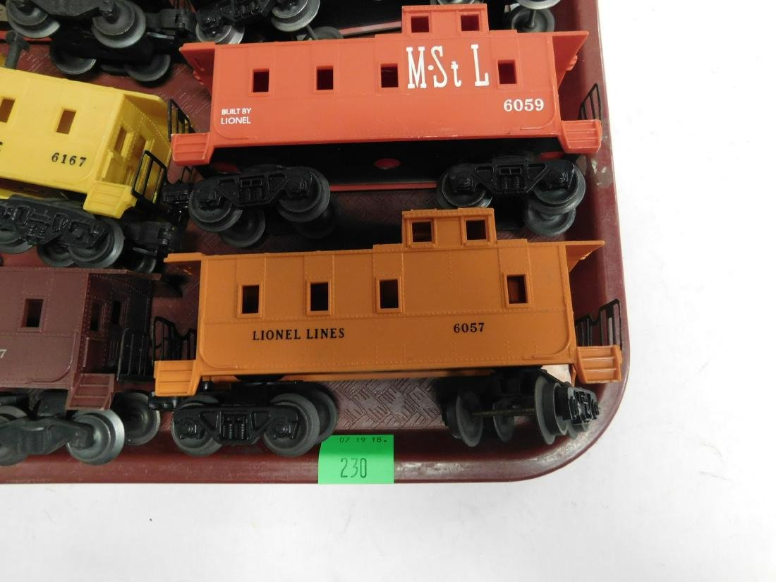 6 Lionel Postwar Cabooses - 4
