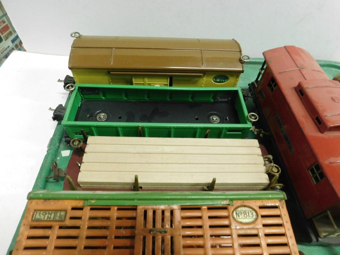 "7 Lionel Lines ""O"" Gauge Railroad Cars - 2"