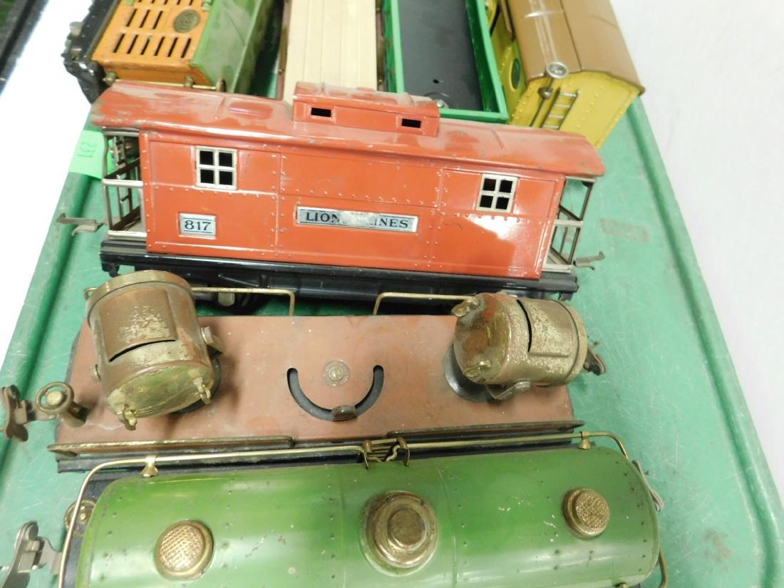 "7 Lionel Lines ""O"" Gauge Railroad Cars - 3"