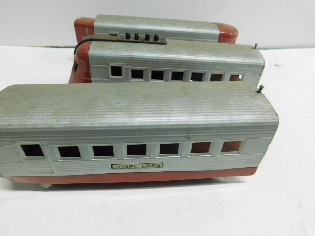 3 Pc Lionel Train & Cars - 2
