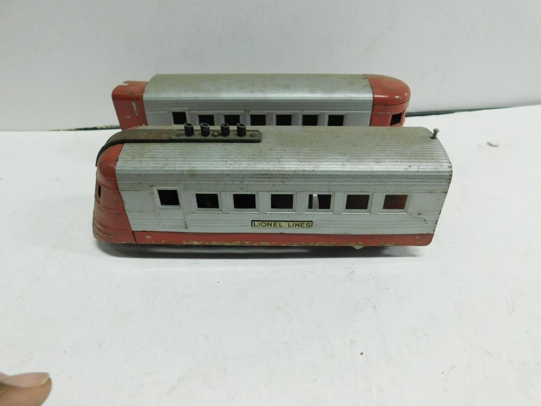3 Pc Lionel Train & Cars - 3