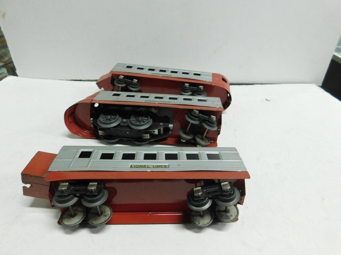 3 Pc Lionel Train & Cars - 5