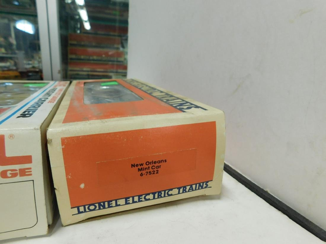 3 Lionel US Train Cars in Boxes - 6