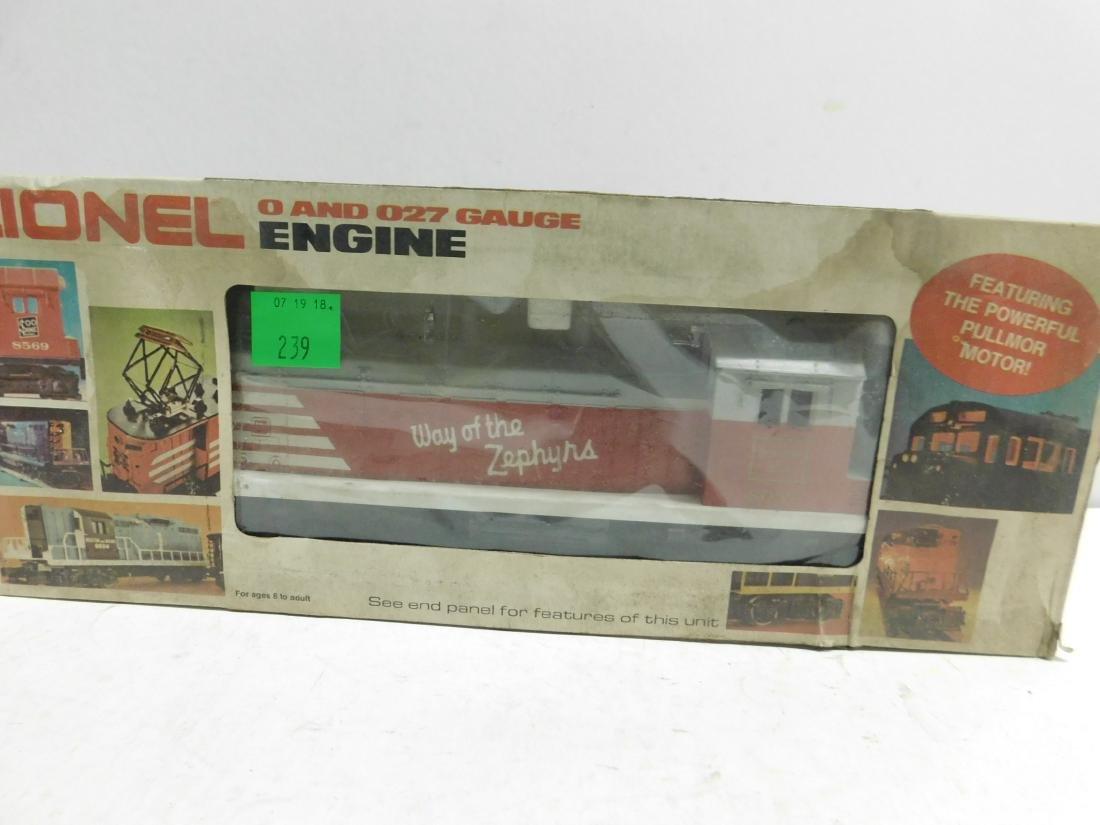 Lionel Burlington SW 1 Switcher in Original Box