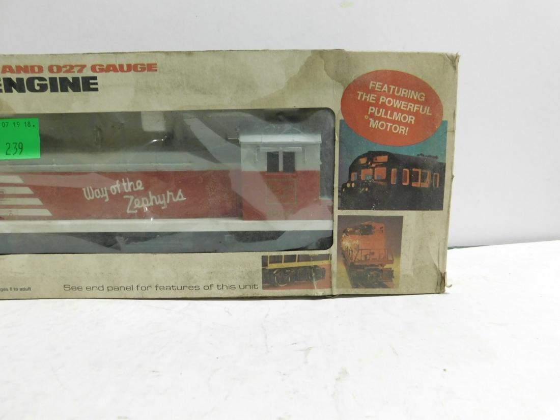 Lionel Burlington SW 1 Switcher in Original Box - 2