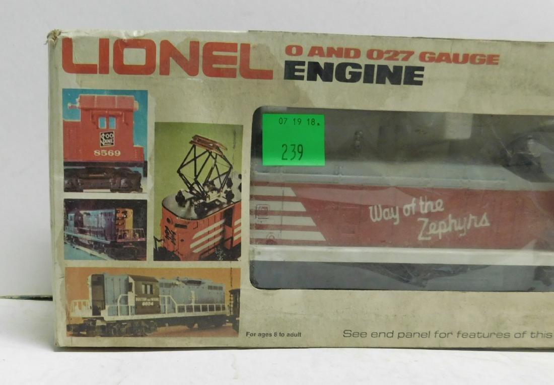 Lionel Burlington SW 1 Switcher in Original Box - 3