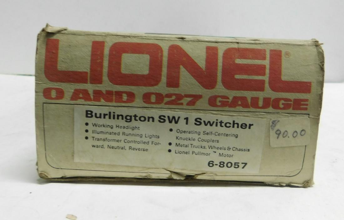 Lionel Burlington SW 1 Switcher in Original Box - 4