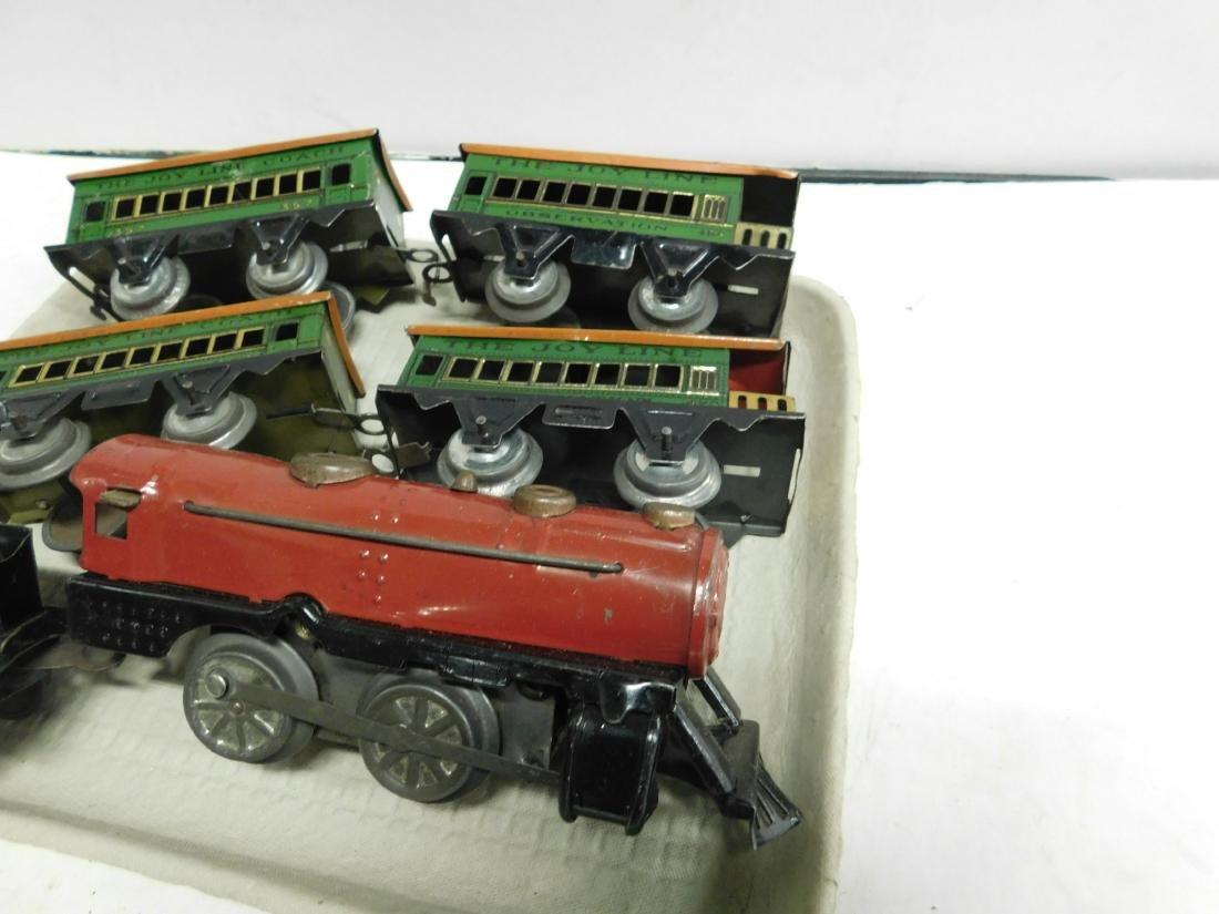 Vintage Joy Line Locomotive & Train Cars - 5
