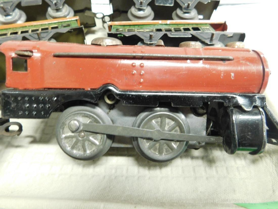 Vintage Joy Line Locomotive & Train Cars - 6