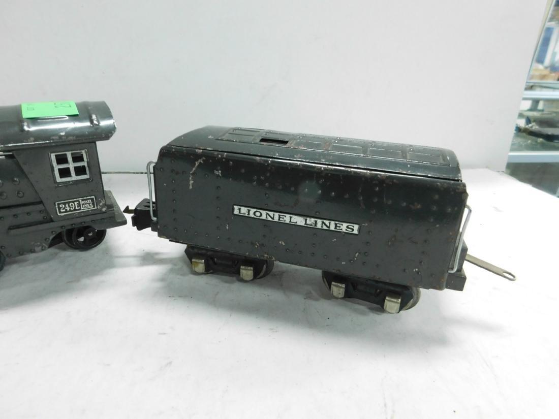 Lionel Lines 249 E Locomotive & Tender - 3