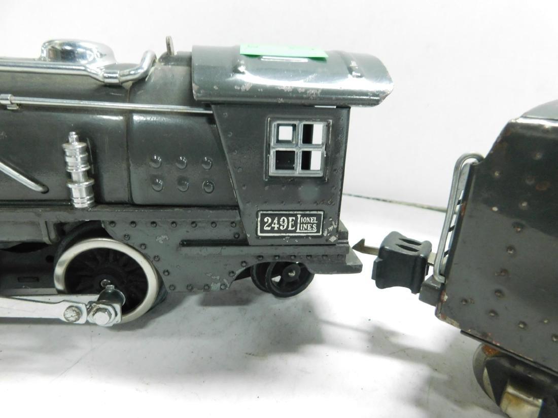 Lionel Lines 249 E Locomotive & Tender - 4