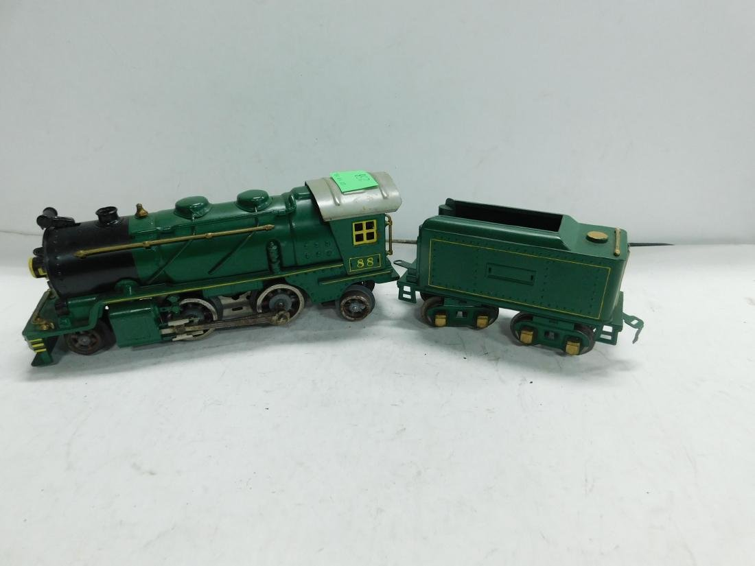 Lionel 88 O Gauge Locomotive & Tender