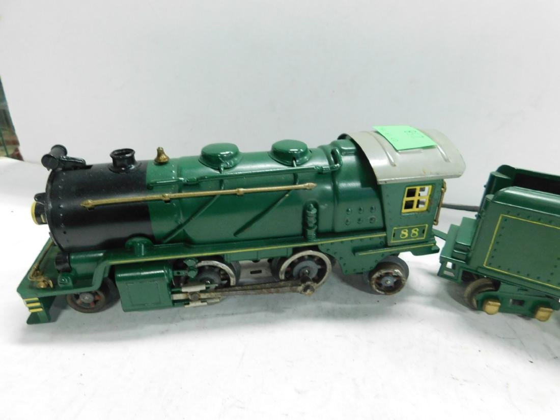 Lionel 88 O Gauge Locomotive & Tender - 2