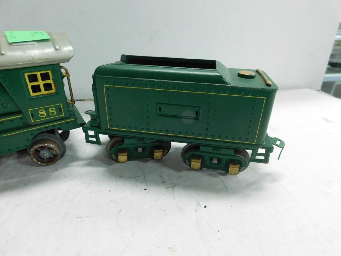 Lionel 88 O Gauge Locomotive & Tender - 3
