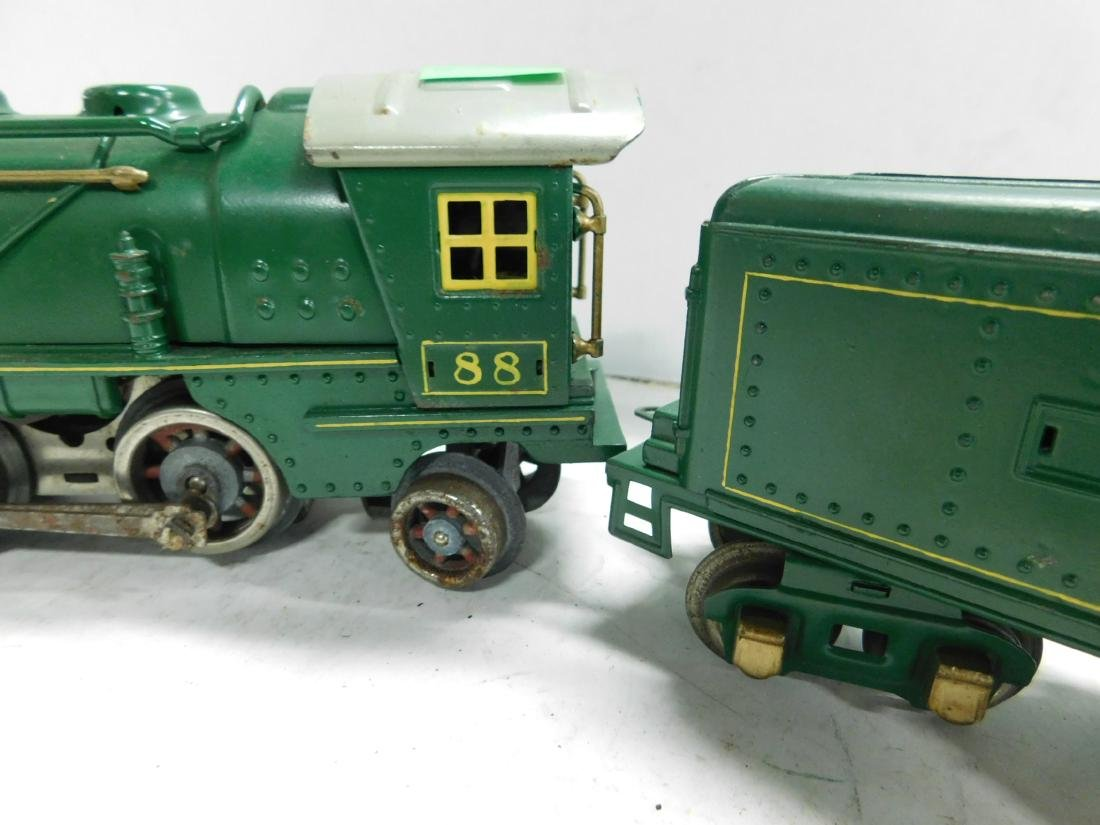 Lionel 88 O Gauge Locomotive & Tender - 4
