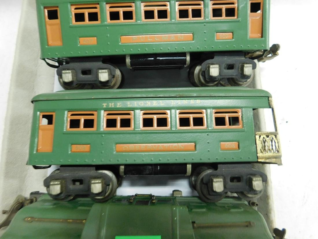 Lionel Prewar Engine & Train Cars - 3