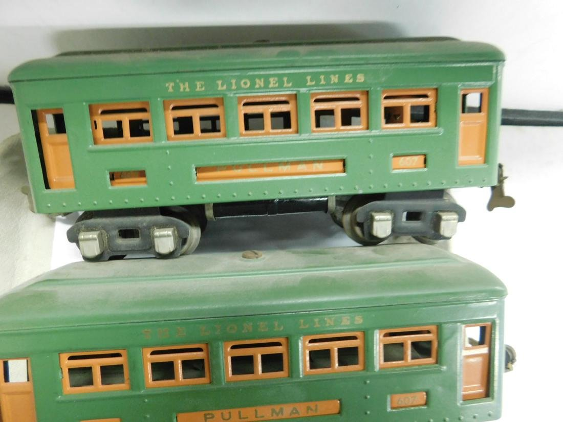 Lionel Prewar Engine & Train Cars - 4