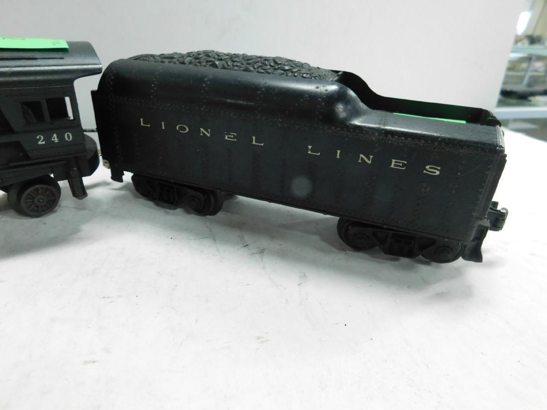 "Lionel ""Sears"" Postwar Engine & Tender - 3"