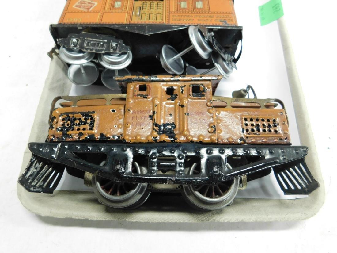Vintage American Flyer Engine & Cars - 2