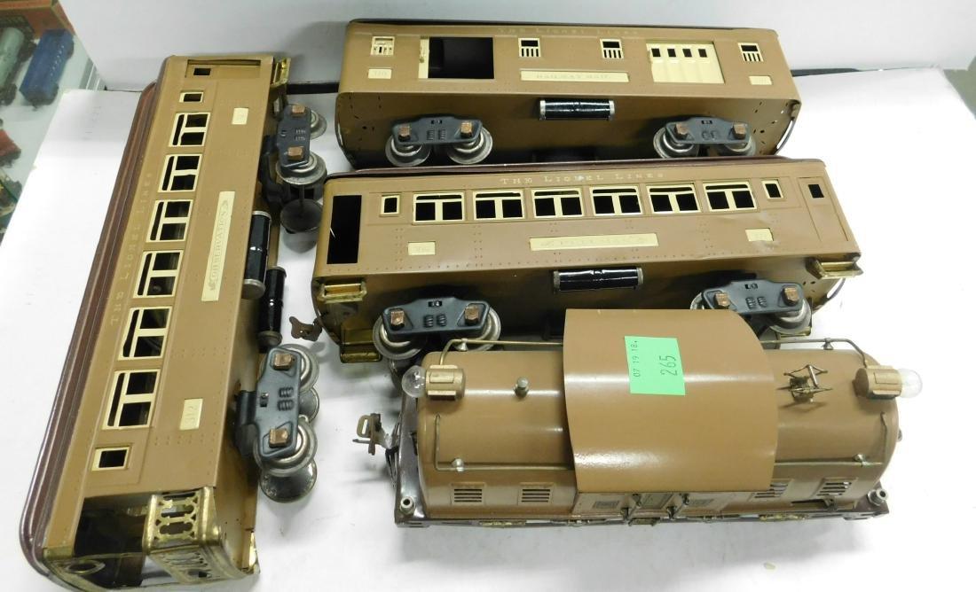 Lionel Prewar Standard Gauge Engine & Cars