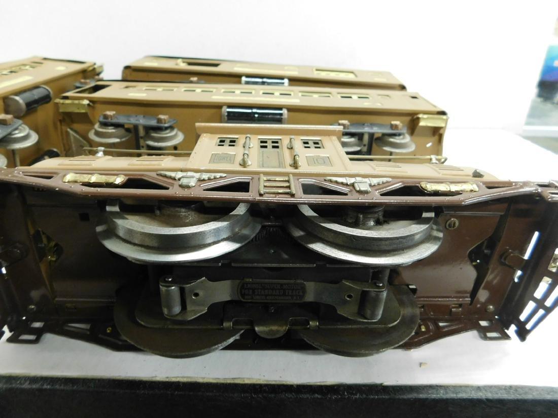 Lionel Prewar Standard Gauge Engine & Cars - 3