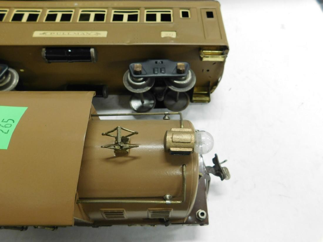 Lionel Prewar Standard Gauge Engine & Cars - 5