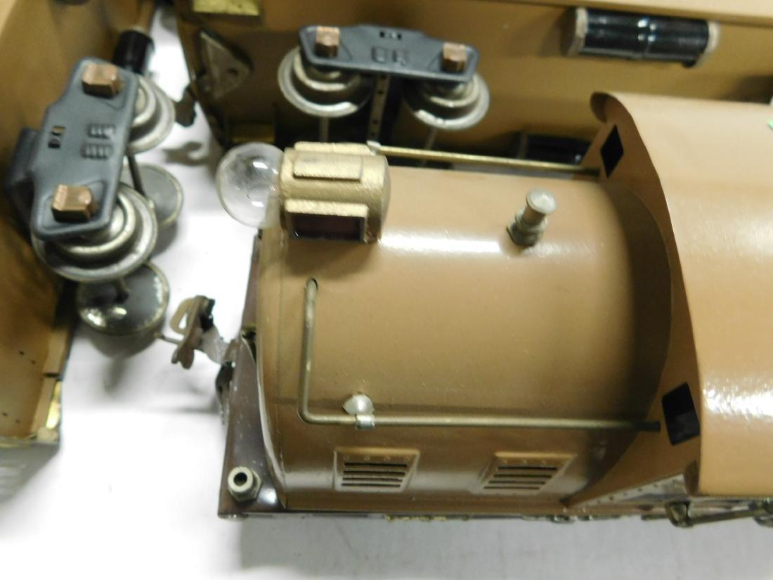 Lionel Prewar Standard Gauge Engine & Cars - 6