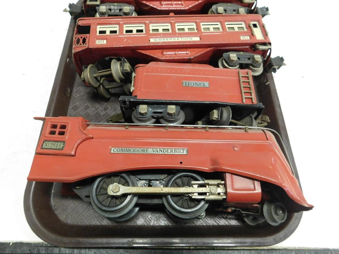 Lionel Commodore Vanderbilt Prewar Engine & Tender - 2