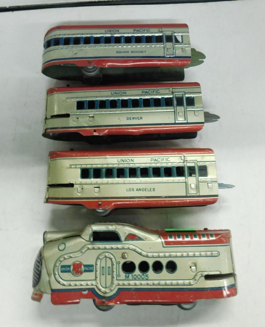 Vintage Marx 4 Piece Train Set