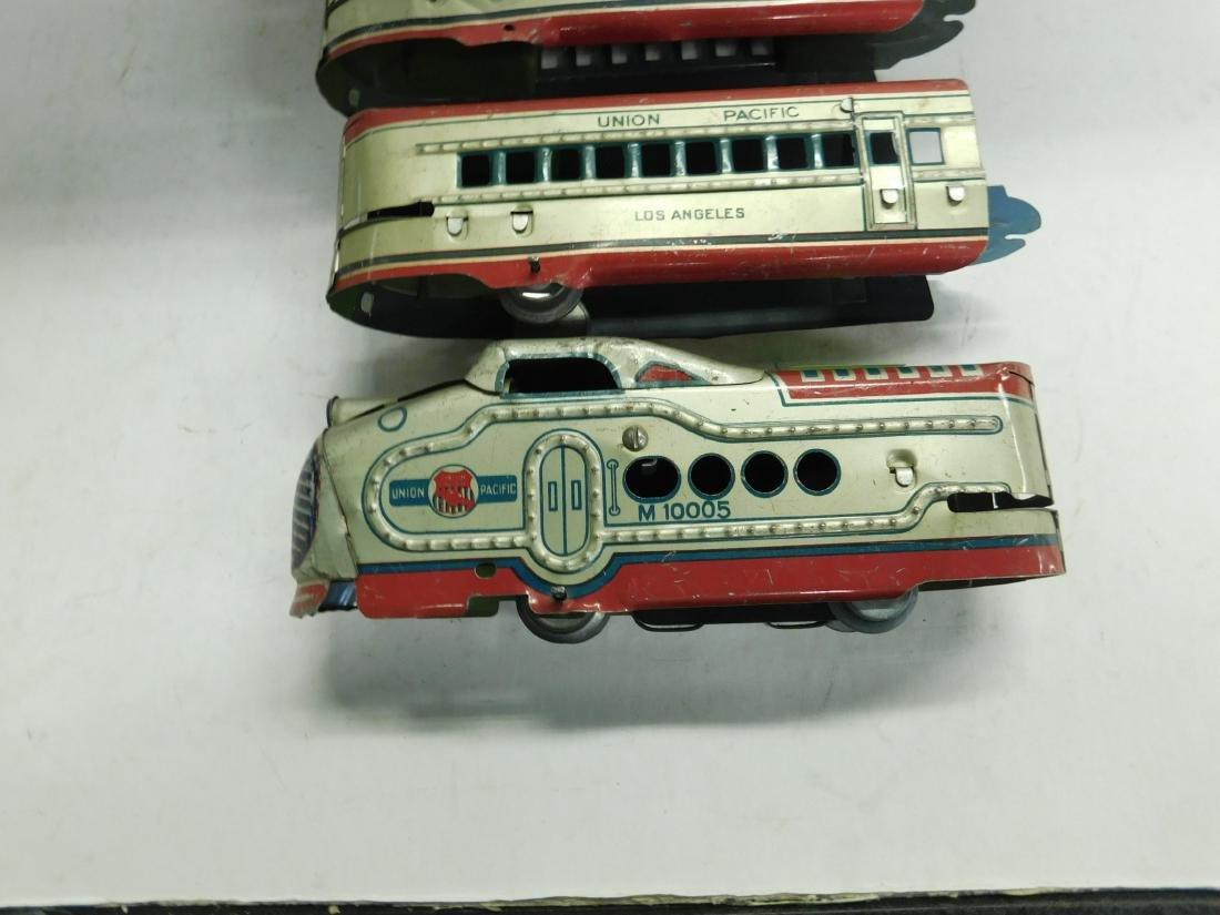 Vintage Marx 4 Piece Train Set - 2