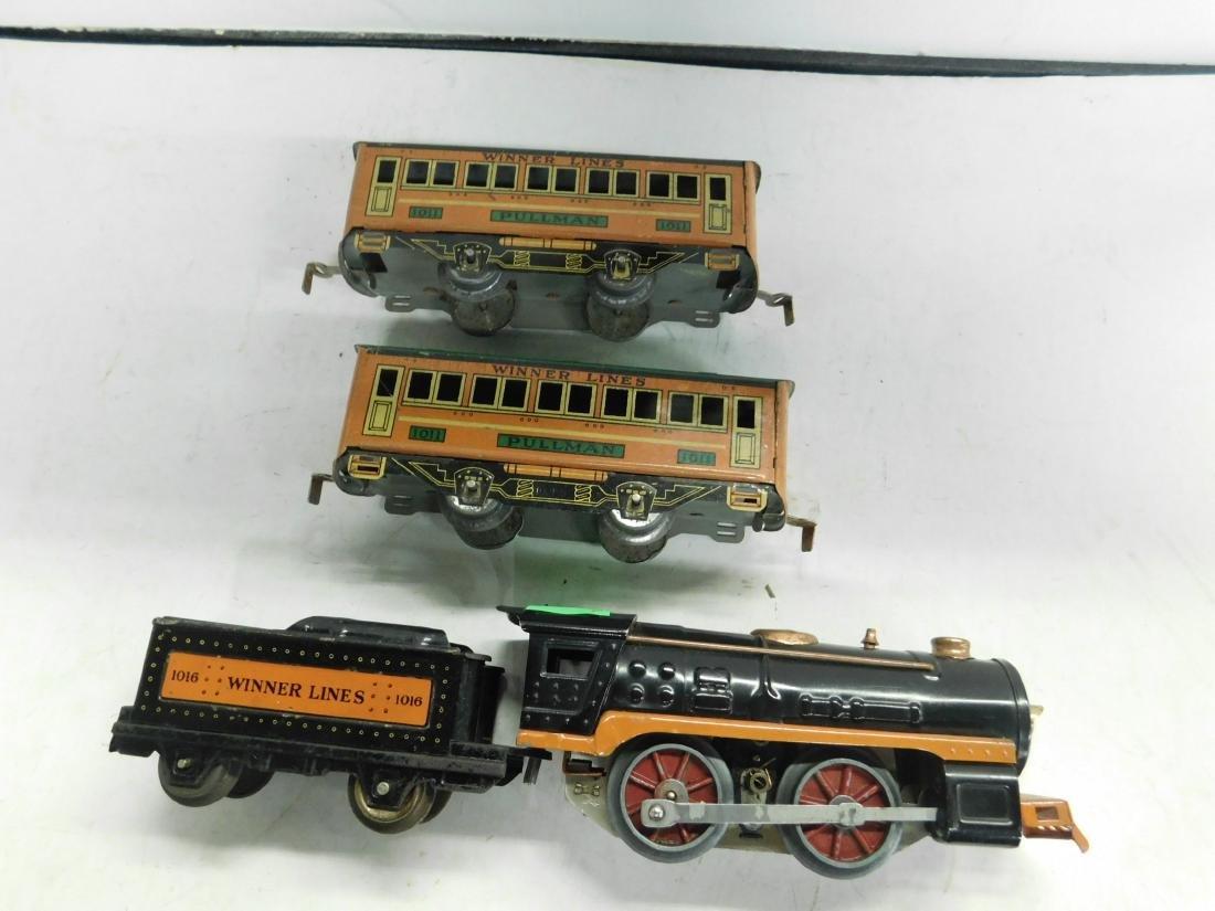 Winner Lines 1016 Locomotive & Tender