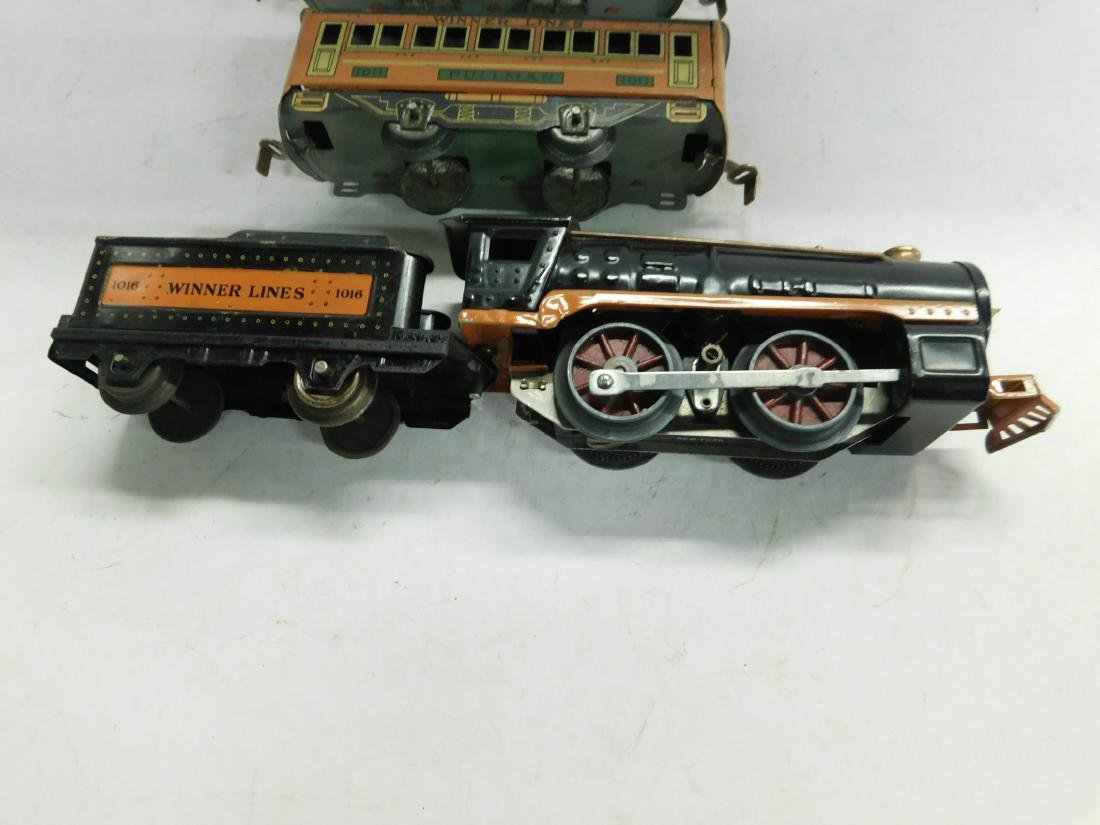 Winner Lines 1016 Locomotive & Tender - 3