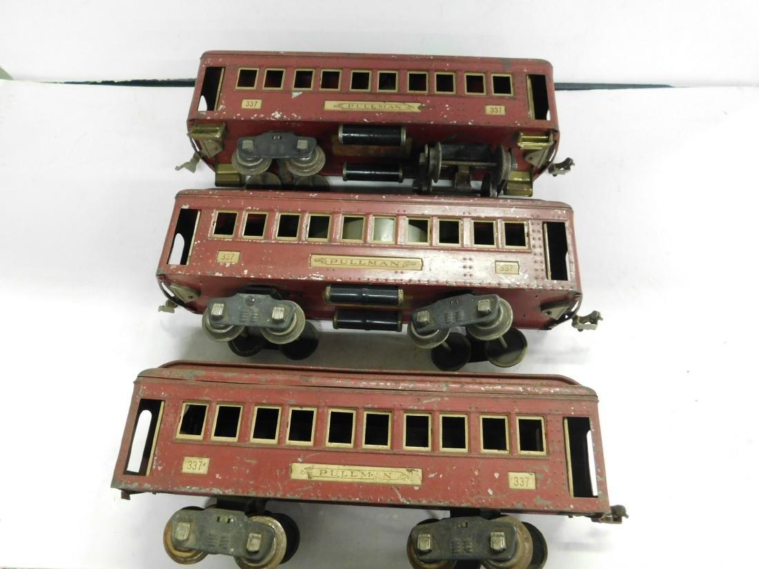 3 Lionel Standard Gauge Train Cars