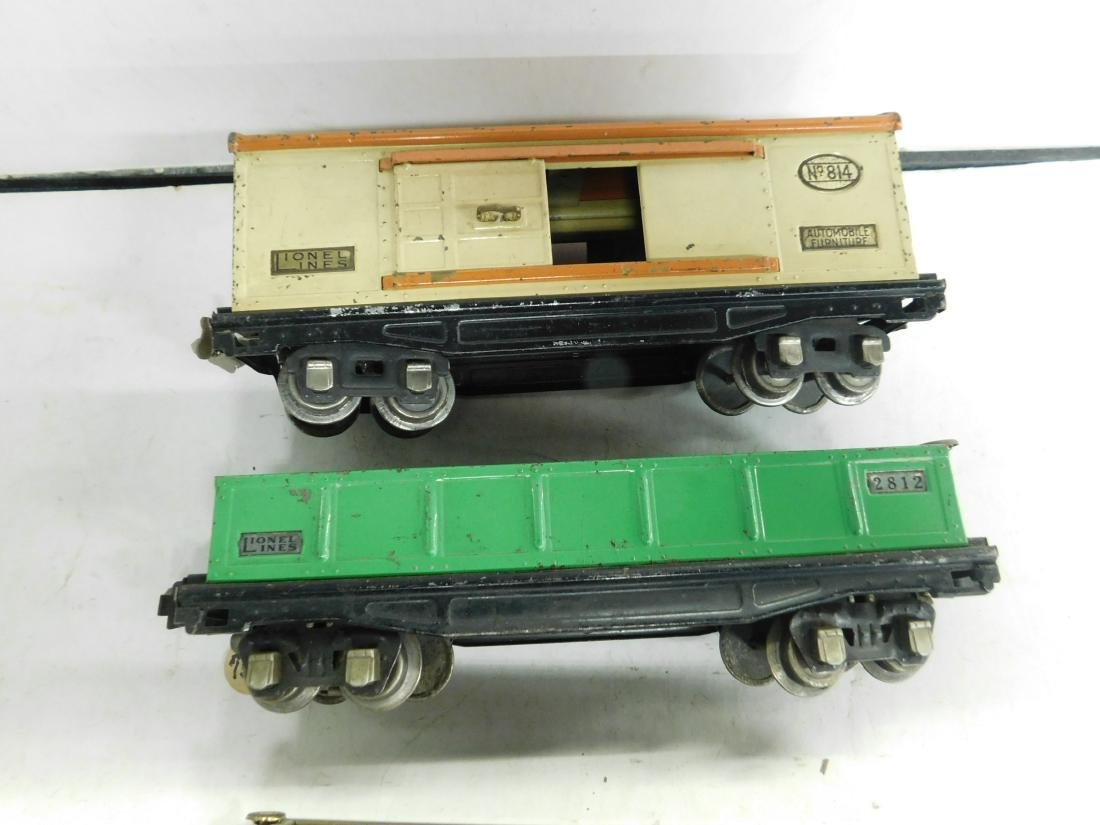 4 Lionel O Gauge Train Cars - 3