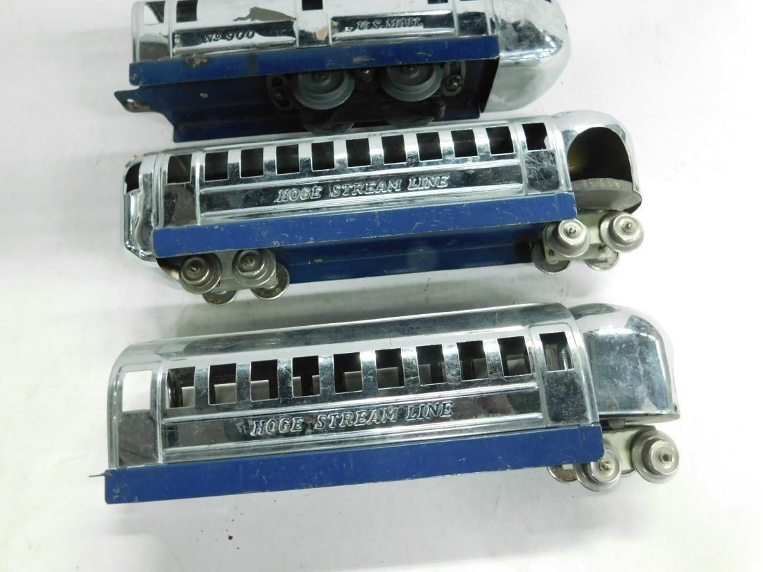 Vintage Hoge Stream Line Engine & Cars - 2
