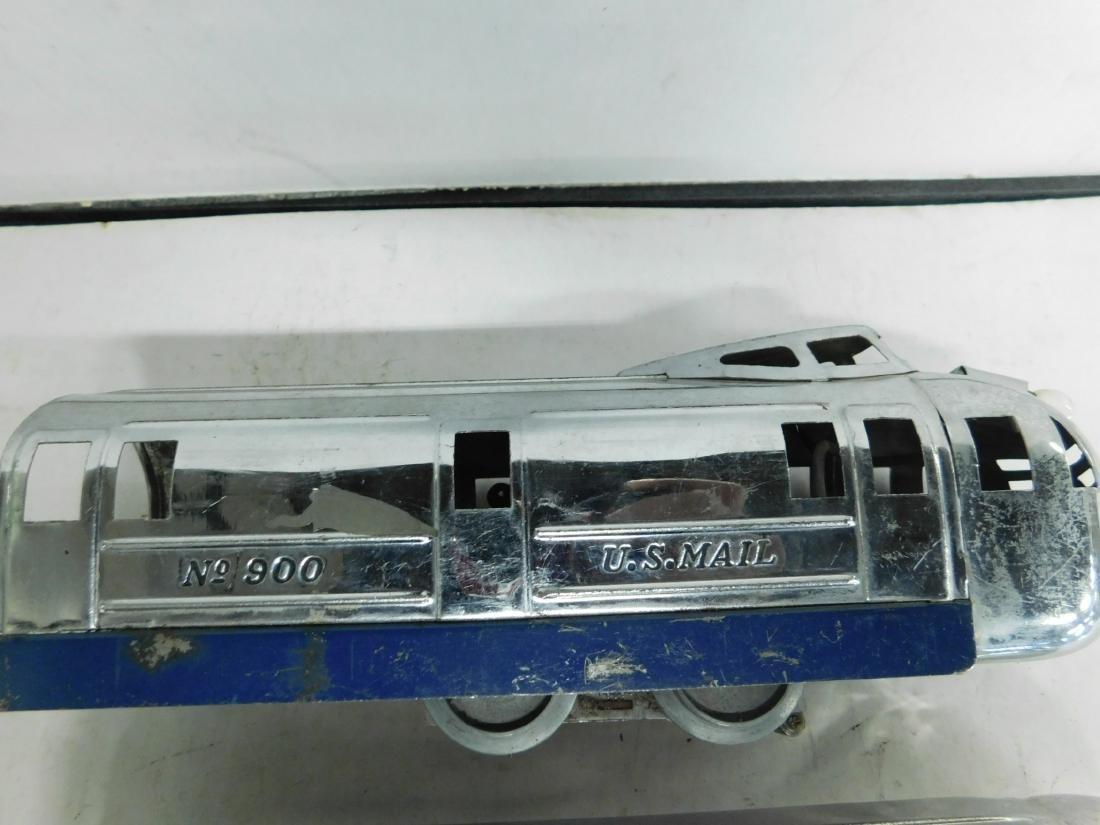 Vintage Hoge Stream Line Engine & Cars - 4