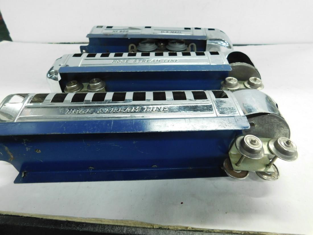 Vintage Hoge Stream Line Engine & Cars - 5