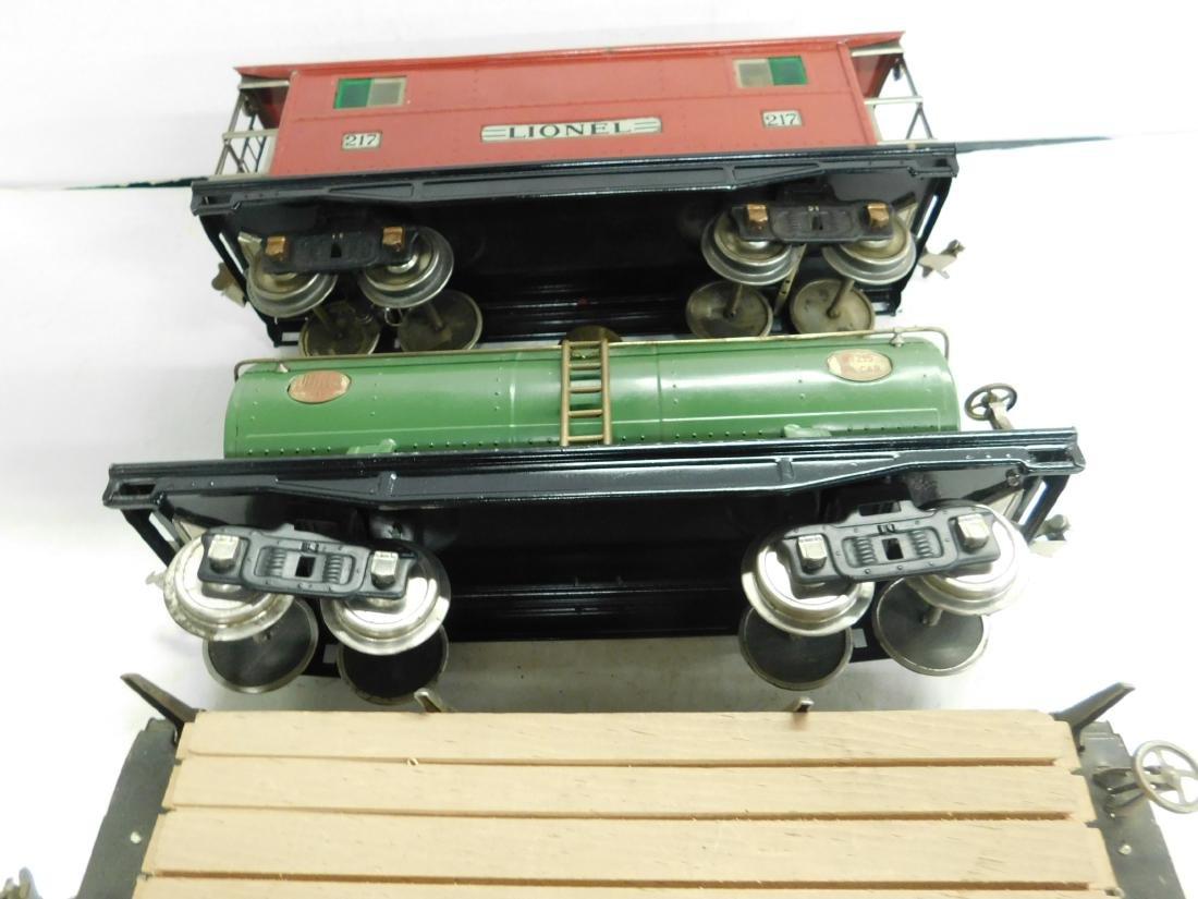 3 Lionel Lines Standard Gauge Train Cars - 2