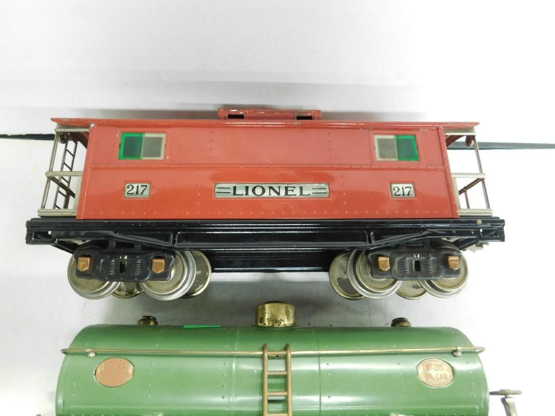 3 Lionel Lines Standard Gauge Train Cars - 3