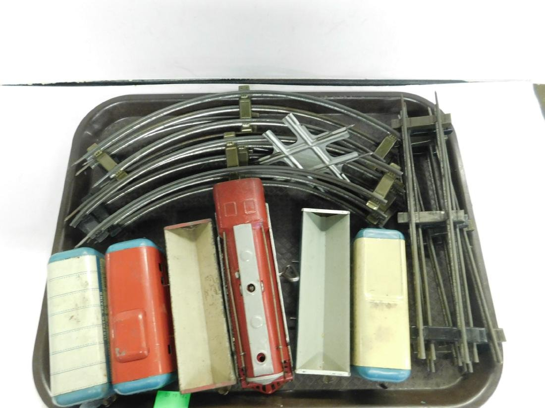 Vintage Hafner Tin Wind Up Train Set w/Track