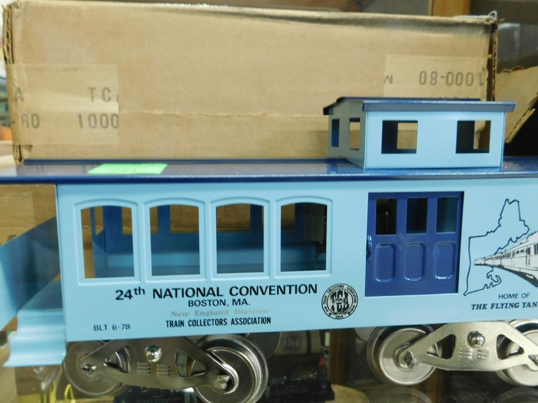 6 McCoy's Wide Gauge TCA Train Cars - 3