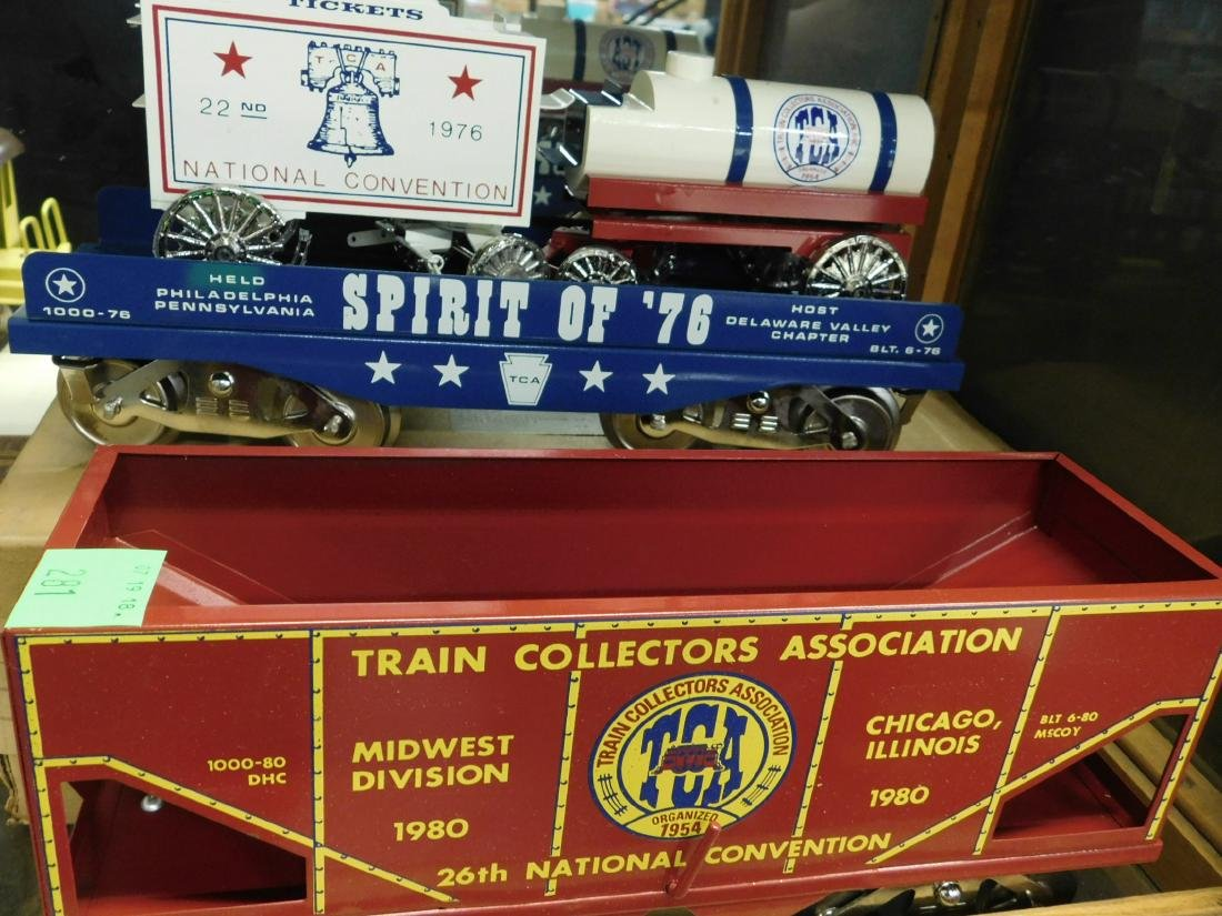 6 McCoy's Wide Gauge TCA Train Cars - 4