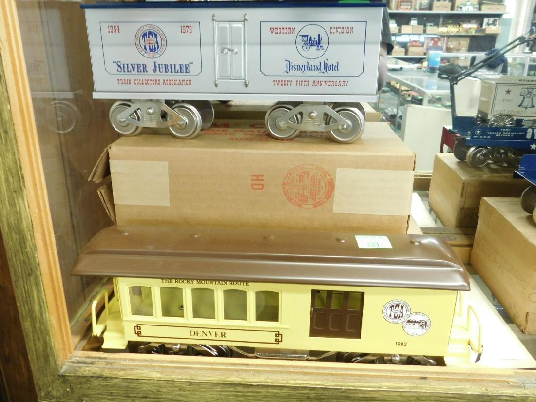 6 McCoy's Wide Gauge TCA Train Cars - 5