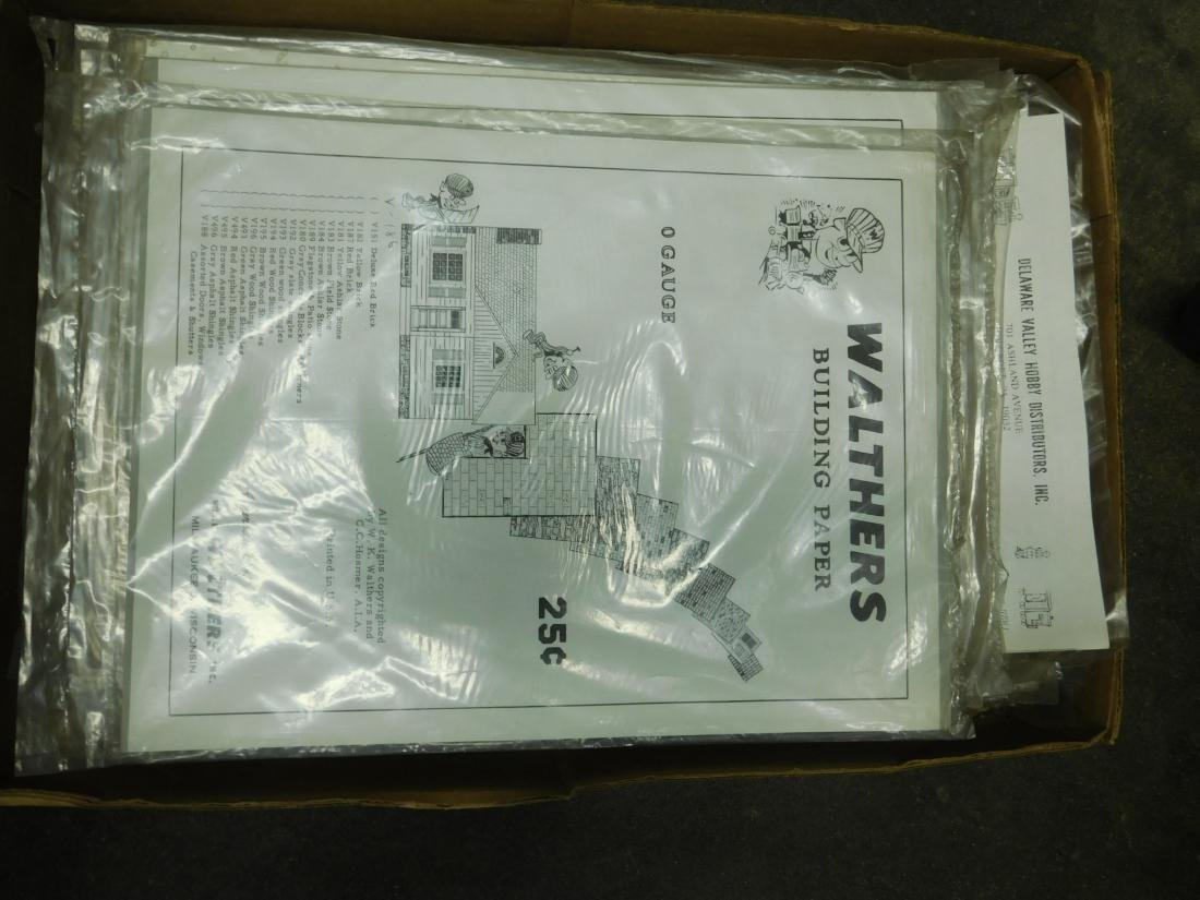 Large Lot Walthers Building Paper