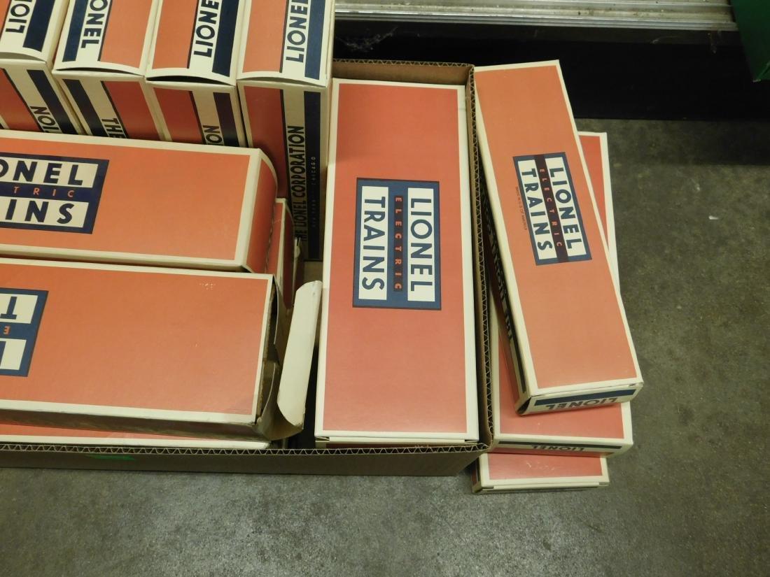 15 Empty Reproduction Lionel Train Boxes - 3