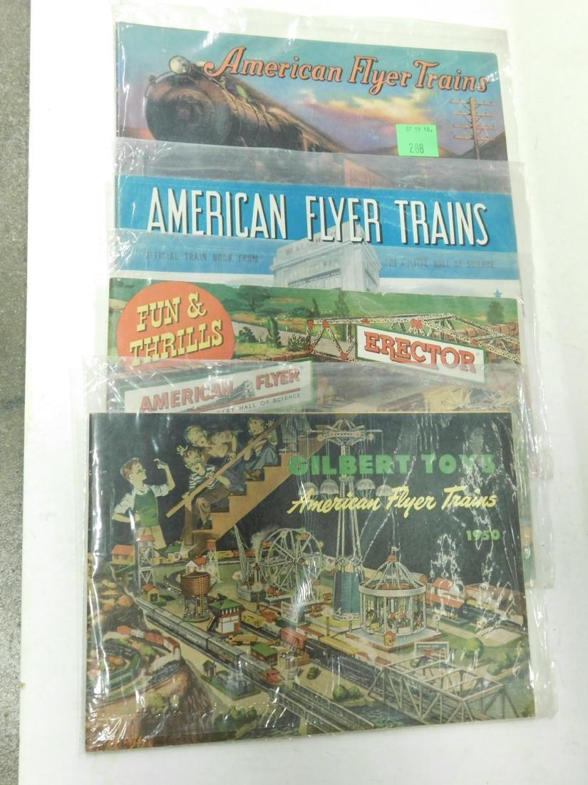 4- 1930s-50s American Train Catalog's