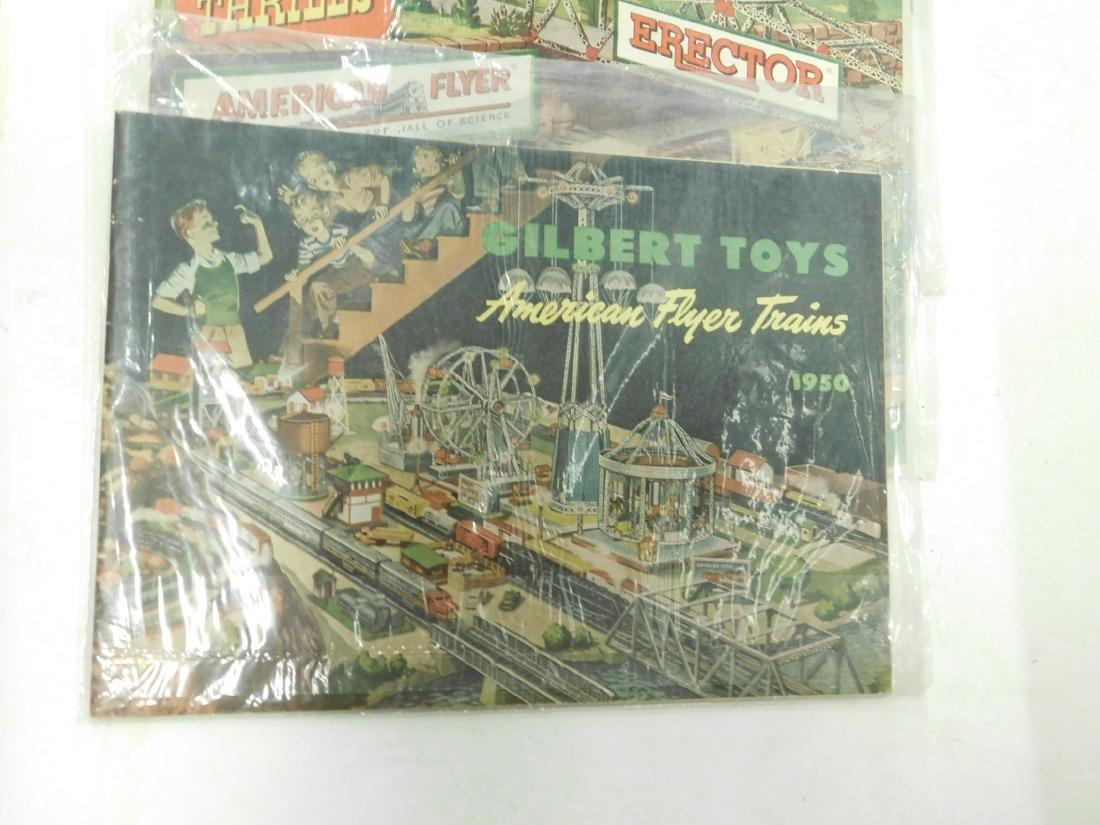 4- 1930s-50s American Train Catalog's - 2
