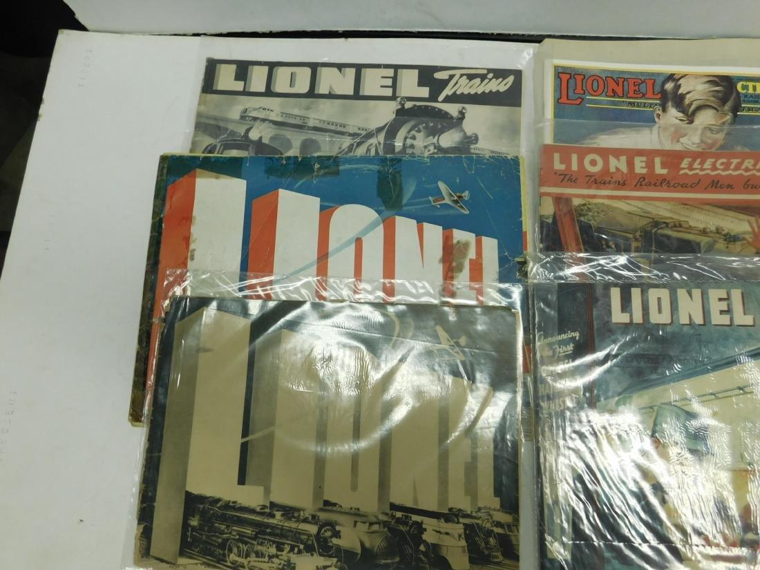 (8) 1920s & 30s Lionel Train Catalogs - 2
